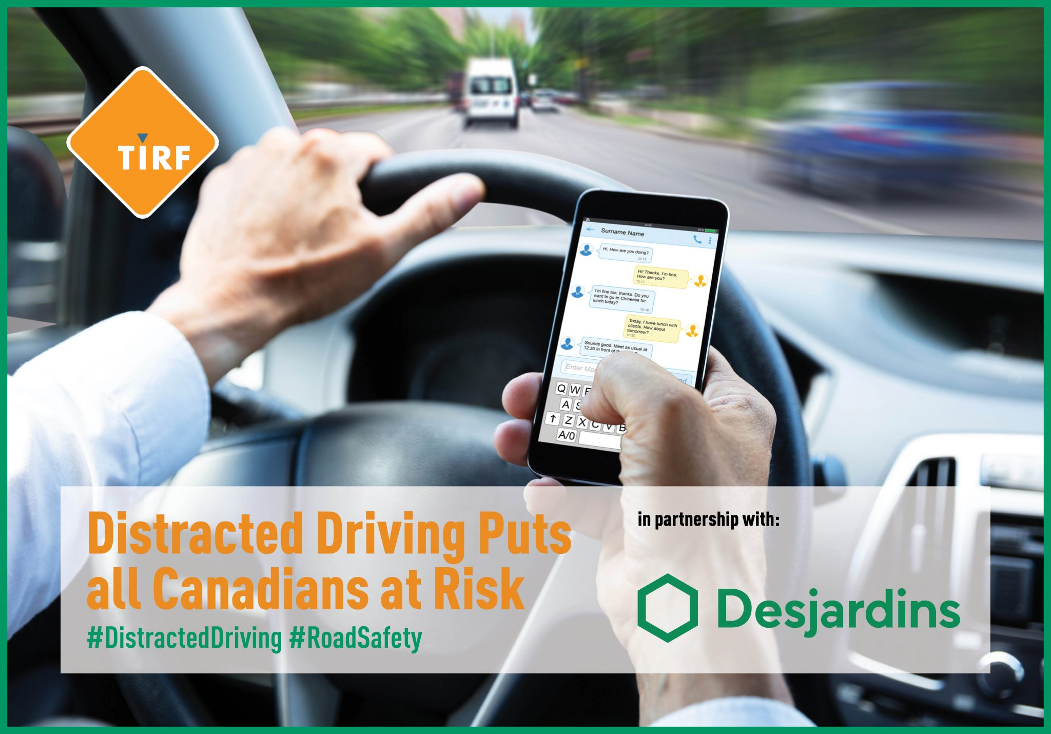 Distracted Driving Puts all Canadians at Risk